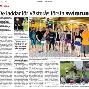 Västerås tidning – meetupartikel från Actic Lögarängen