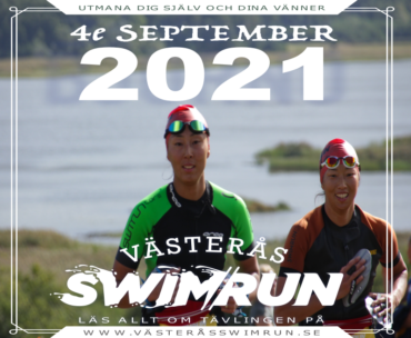 Västerås Swimrun Orginalloppet 4e September 2021  – save the date