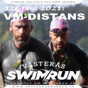 Västerås Swimruns VM-distans – 12e Juni 2021